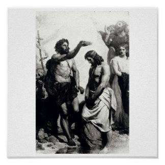 Baptism of Christ. circa 1879 Posters