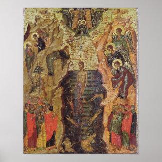 Baptism of Christ, from Sandzak Poster