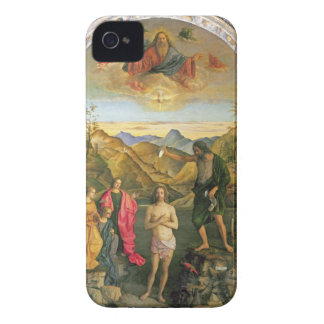 Baptism of Christ, St. John Altarpiece iPhone 4 Case