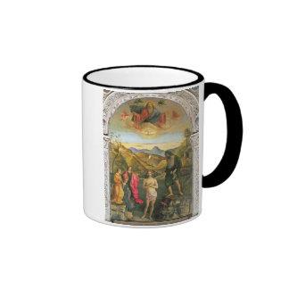 Baptism of Christ, St. John Altarpiece Ringer Coffee Mug