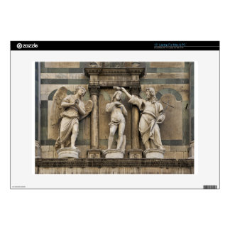 """Baptism of christ - statue from Florence 15"""" Laptop Skin"""