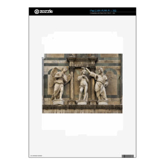 Baptism of christ - statue from Florence iPad 2 Skin