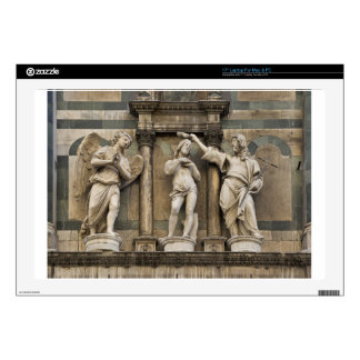 Baptism of christ - statue from Florence Laptop Skins