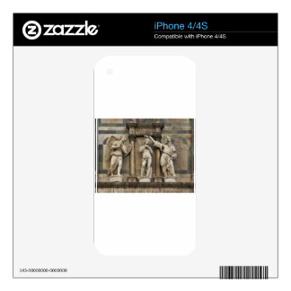 Baptism of christ - statue from Florence Skins For The iPhone 4