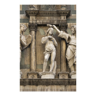 Baptism of christ - statue from Florence Stationery