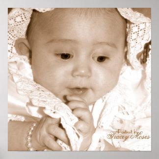 Baptism of Gabriella Poster