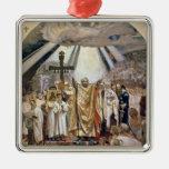 Baptism of Rus, 1885-96 Metal Ornament
