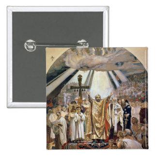 Baptism of Rus, 1885-96 Pinback Button