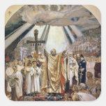 Baptism of Rus, 1885-96 Square Sticker