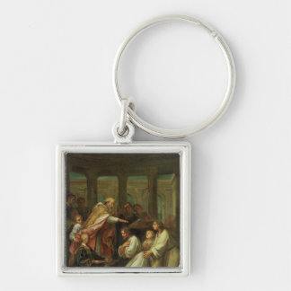 Baptism of St. Augustine Key Chain