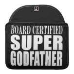 Baptism Parties : Board Certified Super Godfather Sleeves For MacBook Pro