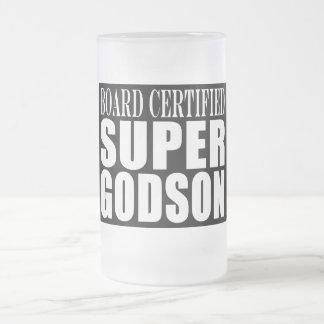 Baptism Parties : Board Certified Super Godson Coffee Mugs