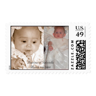 Baptism Postage - sample 1