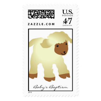 Baptism Postage Stamp