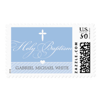 BAPTISM POSTAGE STAMPS  :: lovely type 5