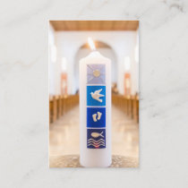 Baptism Prayer Cards | Baptism Candle
