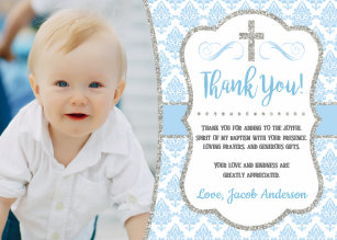 Photo Thank You Cards Zazzle