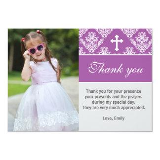 Baptism Thank You Cards | Zazzle