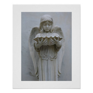 Baptismal Angel (front view) 16x20 Poster