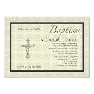Baptismal Formal Invitation