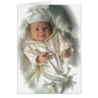 Baptismal Thank you Card