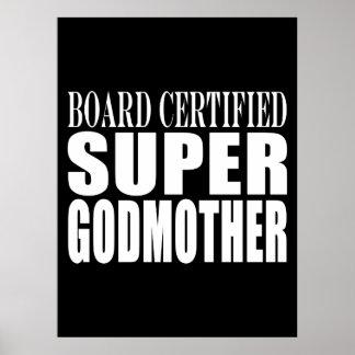 Baptisms Birthdays Christmas : Super Godmother Print