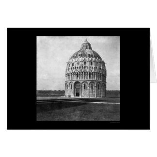 Baptistery in Pisa, Italy 1898 Card