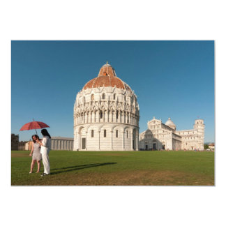 Baptistry and Duomo (Cathedral), Pisa, Italy Card