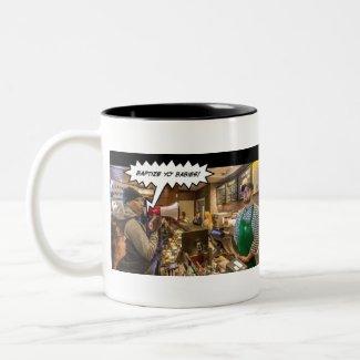 Baptize Yo Babies Two-Tone Coffee Mug
