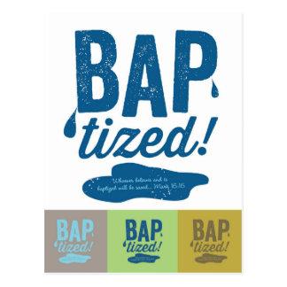 Baptized! Postcard