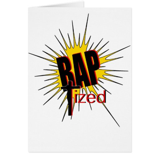 Baptized!  The gift for all who are proud. Greeting Card