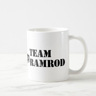 Baqueta de fusil del equipo tazas de café