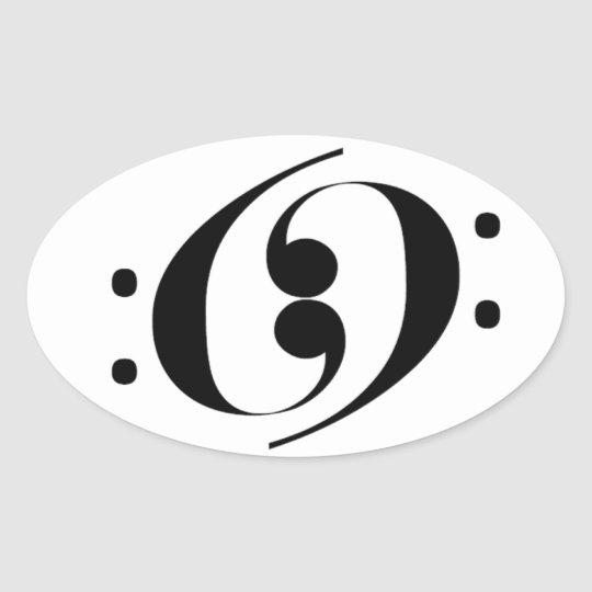 Bar 69 oval sticker