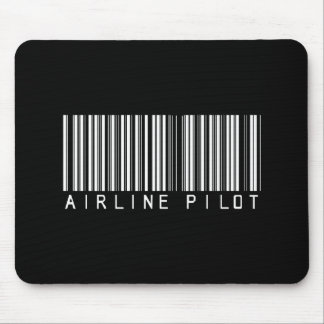 BAR AIRLINE PILOT DARK MOUSE PAD