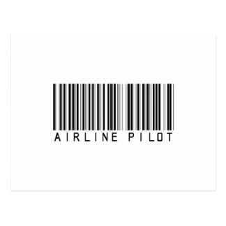BAR AIRLINE PILOT LIGHT POSTCARDS