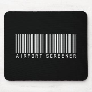 BAR AIRPORT SCREENER DARK MOUSE PAD