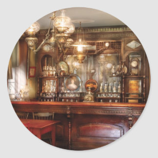 Bar and Tavern Classic Round Sticker