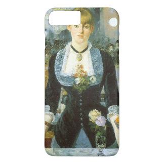 Bar at the Folies Bergere by Manet, Vintage Art iPhone 8 Plus/7 Plus Case