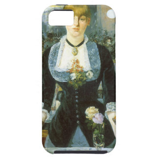 Bar at the Folies Bergere by Manet, Vintage Art iPhone SE/5/5s Case