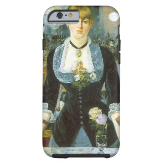 Bar at the Folies Bergere by Manet, Vintage Art Tough iPhone 6 Case