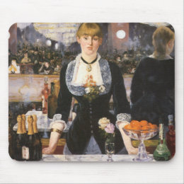 Bar at the Folies Bergère Mouse Pad
