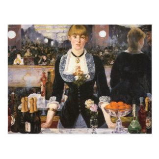 Bar at the Folies Bergère Post Card