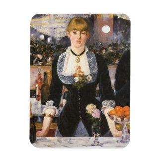 Bar at the Folies Bergère Rectangular Photo Magnet