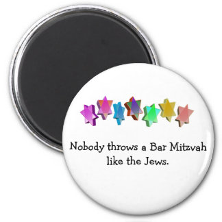 Bar/Bat Mitzvah 2 Inch Round Magnet