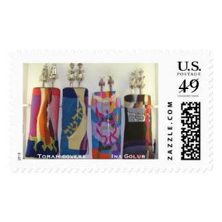 Bar Bat Mitzvah -Celebrating Artists' Torah Covers Postage