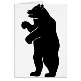bär bear Berlin grizzly Felicitacion