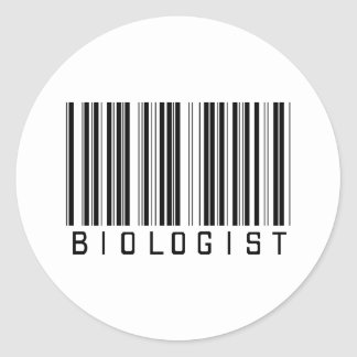 BAR BIOLOGIST LIGHT CLASSIC ROUND STICKER