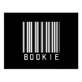 BAR BOOKIE DARK POSTCARD