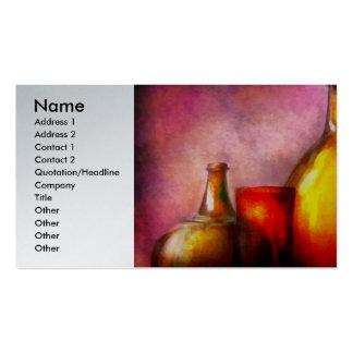Bar - Bottles - A still life of bottles Business Card