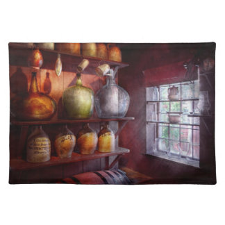 Bar - Bottles - Check out these BIG Jugs Cloth Placemat